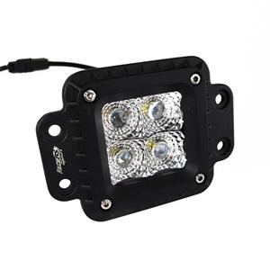 RS FLUSH MNT 4 LED 20W SPOT EA