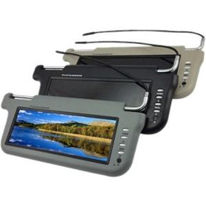 """ACCELE 9""""LCD VISOR BLK PASNGR"""