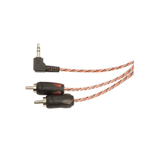 STINGER RT ANGLE 3.5mm:RCA 3'