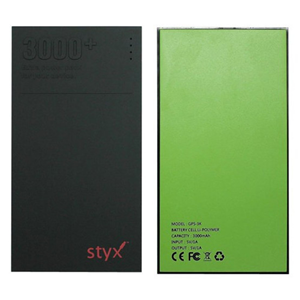 STYX 3000 MAH POWER BANK