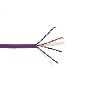 FAV CAT6E 550MHz 1000' PURPLE