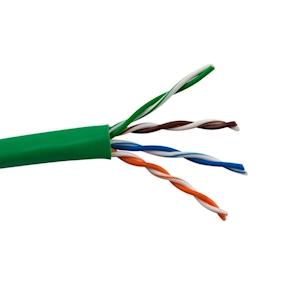 FeedbackAV 50-Foot CAT5e Network Cable - Green