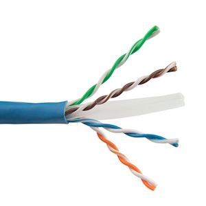 FeedbackAV 7-Foot CAT6 Network Cable - Blue