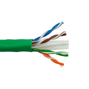 10-Foot Cat6 Network Cable - Green