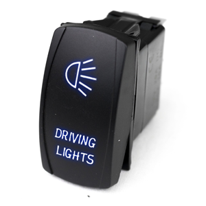 RS LED ROCKER DRIVING LITES BL
