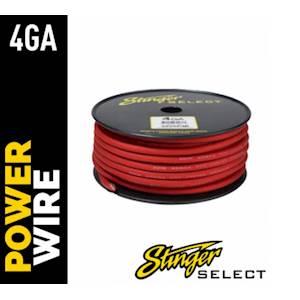 STINGER 4ga POWER 100' RED CCA