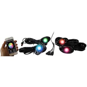 RS (4)RGB LED PODS APP CONTROL