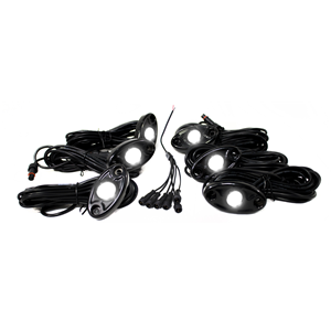 RS 6PK LED GLOW POD KIT WHITE
