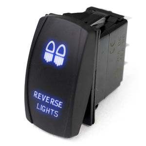 RS#LED ROCKER REVERS LIGHTS BL