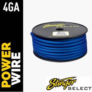 STINGER 4ga POWER 100' BL CCA