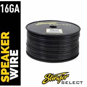STINGER 16ga SPKR 500' BLK CCA