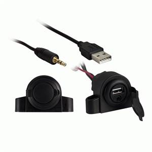 IB USB+3.5mm 5' FLUSH/UNDER
