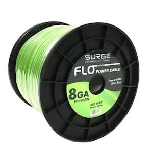 FPI-8BLK - 250 Feet 8 Gauge Power Cable - Black