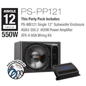 """PWB# (1)12"""" PARTY PACK"""