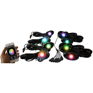 RS (8)RGB LED PODS APP CONTROL