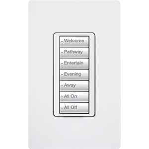 LUTRON RR2 7BUTTON KEYPAD LT A