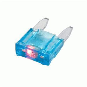 IB 15 AMP ATM W/LED 5 PACK
