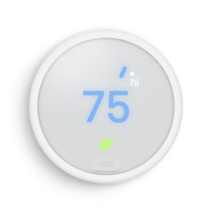 NEST THERMOSTAT E WHITE (PRO)