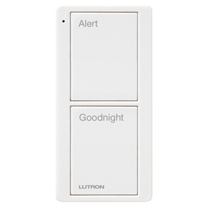 LUTRON RA2 2BUTTON BED SCENE