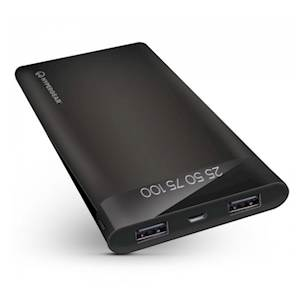 HyperGear - Dual USB Portable Battery Pack with Digital Battery Indicator - 16000mAh