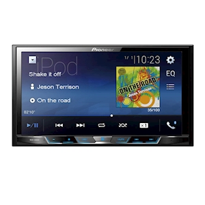 Pioneer 7-Inch WVGA Digital Multimedia Video Receiver with Bluetooth