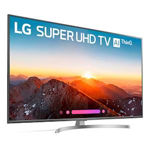 "LG 65"" 4K SUPER HD AI THINQ"