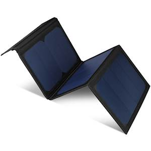 NAZTECH DUAL USB SOLAR CHARGER