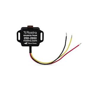 Rostra 250-2950 SourcePWR Smart Power Module For Add-On 12V Accessories