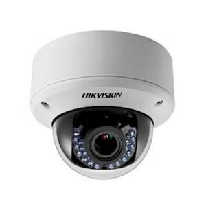 HIK Outdoor IR Dome Camera, HD 2 MP, 2.8-12 mm, 40 m IR Day/Night, Smart IR, UTC Menu, IP66, 24 V AC/12 V DC
