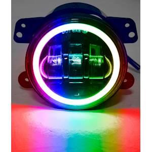 """RS 4"""" LED FOG LIGHT APB BT CON"""