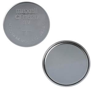 Maxell 5x CR1620 3V Lithium Button Cell Battery - 5 Pack