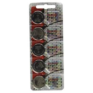 Maxell CR2032 3V Micro Lithium Button Coin Cell Battery - 5 pack