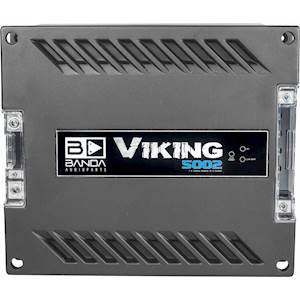 Banda Viking 1 x 5000 WRMS @2ohm Amplifier