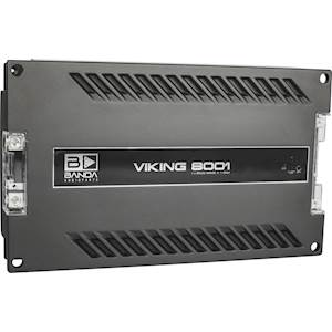 Banda Viking 1 x 8000 WRMS @1ohm Amplifier
