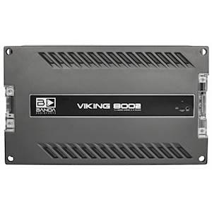 Banda Viking 1 x 8000 WRMS @2ohm Amplifier