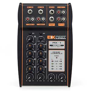 Expert Electronics MX-1 4 CH 2 Way Mixing Console