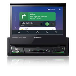 Pioneer 6.8-Inch 1-DIN Multimedia DVD Receiver