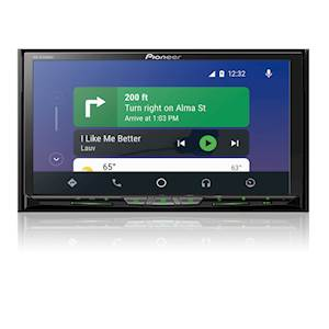 Pioneer 6.94-Inch In-Dash Multimedia Receiver with Touchscreen