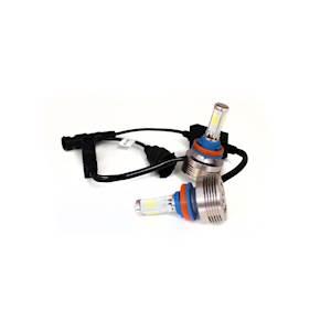 H11 4-Sided Plug-N-Play LED Headlight Kit - 2,500 LUX (6,000 Lumens) w/ OEM Kelvin Color
