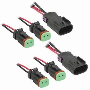 Polaris Headlight Adapter Harness w/Stock Halogen Lights
