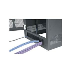 Cable-Entry Read Door, 25 BGR Racks