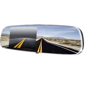 Frameless Mirror with Auto Brightness Control
