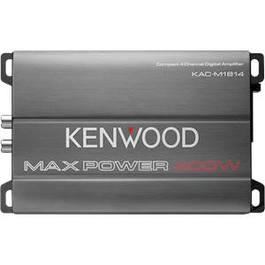 KENWOOD AMP COMPACT 4CH 400W