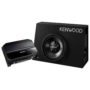 KENWOOD AMP/SUB PACKAGE 700W
