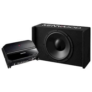 KENWOOD AMP/SUB PACKAGE 700W
