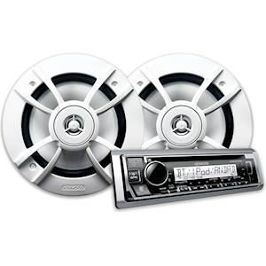 KENWOOD MARINE CD/SPEAKER PKG