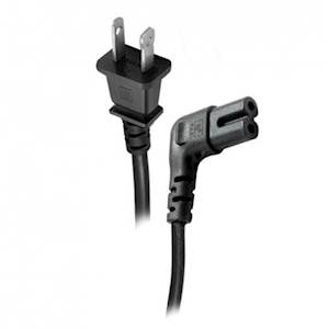 Figure 8 Right Angle Power Cord - 2 Meters