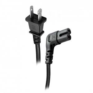 Figure 8 Right Angle Power Cord - 1 Meter