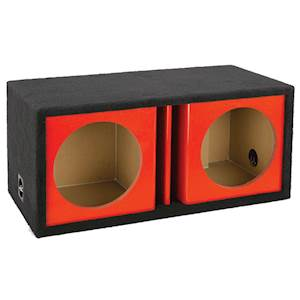 """ATREND*12"""" DUAL VENT KANDY RED"""