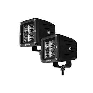 """3"""" 4 LED Cube Spot Light (2 Light Kit)"""